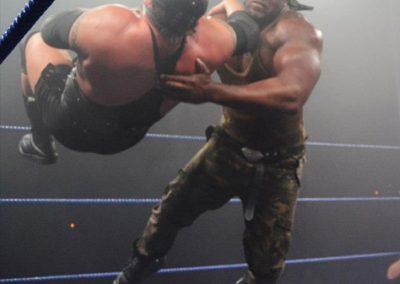 Choke slam